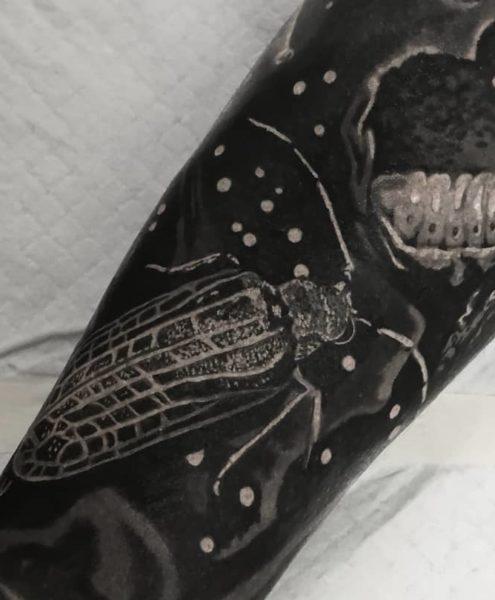 Bohemian Tattoo Arts - Black and White Tattoo