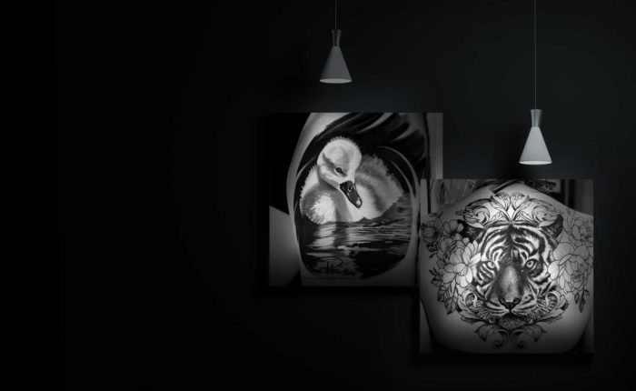 Bohemian Tattoo Arts Black and White