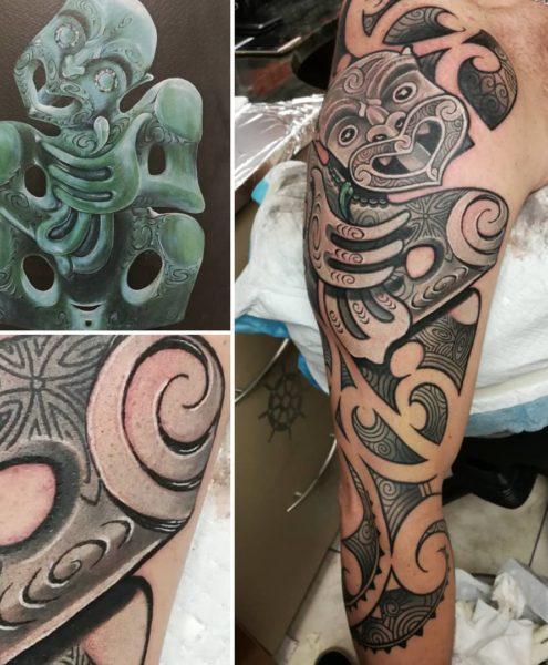 Bohemian Tattoo Arts - Freehand Kirituhi