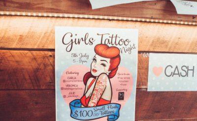 Girls Tattoo Night