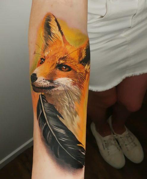 Bohemian Tattoo Arts - Realistic Tattoo Fox