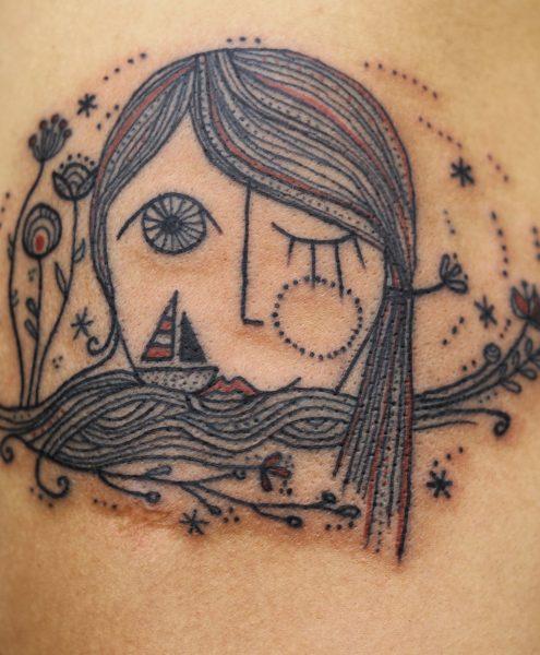 Spontaneously Organic Tattoo Style