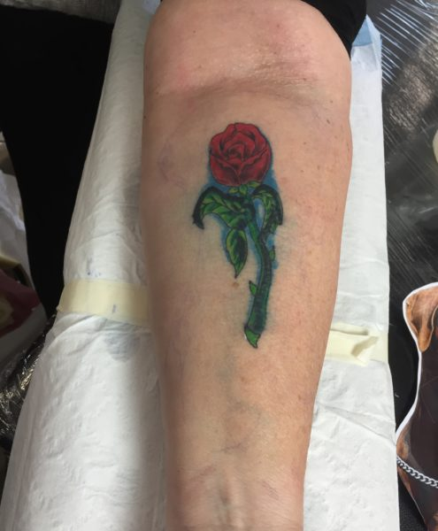 Cover Up - Old Tattoo