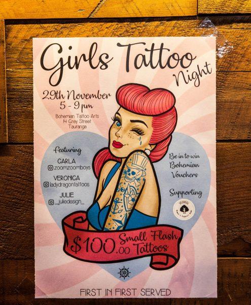 Girls Tattoo Night 2